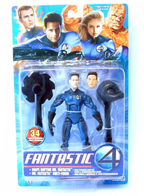 Mr. Fantastic Movie Series 2 (NON MINT PACKAGE)
