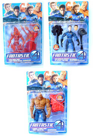 Fantastic Four Movie Series 2 Set of 3