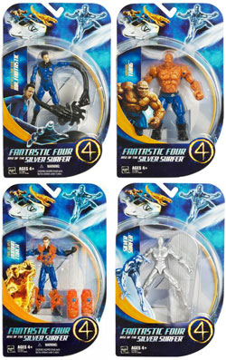FF Rise of the Silver Surfer Series 1 Set of 4