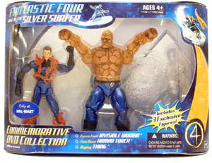 Commemorative DVD Collection - Human Torch, The Thing, Invisible Woman