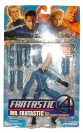 Mr. Fantastic with Stretch Attachments