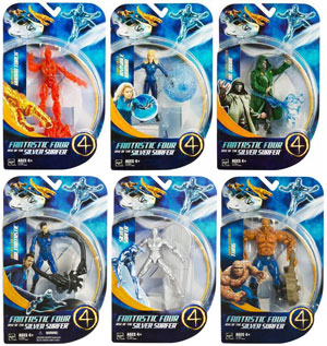Fantastic Four Rise Of The Silver Surfer Set of 6