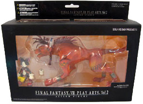 Final Fantasy VII - Red XIII and Cait Sith Trading Arts