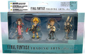 Final Fantasy Trading Arts Mini Set Series 3: Aerith, Tidus, Balthier, Fran
