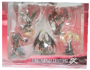 Final Fantasy Creatures KAI - VOLUME 2 Set of 5[Shinryu, Siren, Ifrit, Vincent, Bahamut]