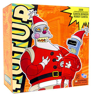 Futurama - SDCC Exclusive Santa Bender and Robot Santa