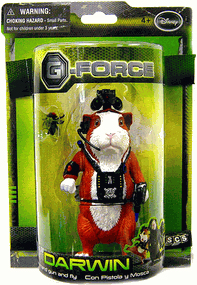 G-Force - Darwin with Hand Gun and Fly
