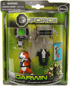 G-Force - Mini Figure Set Darwin [Drop Line and Jet Pack]