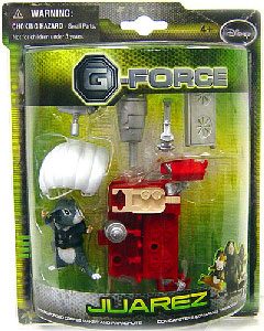 G-Force - Juarez with Weaponized Coffee Maker and Parachute
