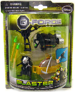 G-Force - Blaster with Weaponized Waffle Maker
