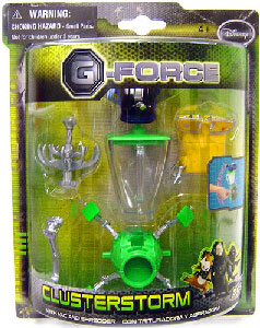 G-Force - Clusterstorm with Vac and Shredder