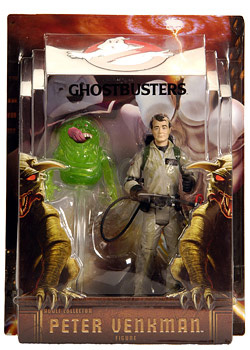Ghostbusters Exclusive - Peter Venkman with Slimer