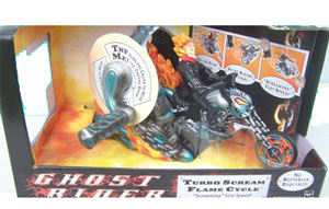 Ghost Rider and Turbo Scream Flame Cycle