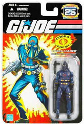 25th Anniversary - Cobra Leader - Hooded Cobra Commander