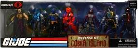 GI JOE Battle Packs - Defense of Cobra Island