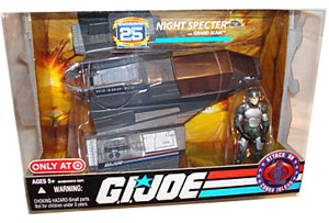 25th Anniversary NIGHT SPECTER with Grand Slam Vehicle