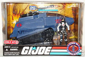 25th Anniversary Target Exclusive Cobra H.I.S.S with Cobra Driver Vehicle