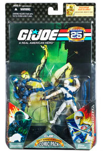 25th Anniversary Comic 2-Pack: Snake Eyes and Storm Shadow