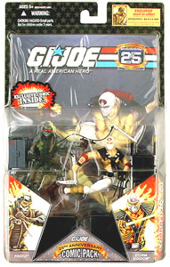 25th Anniversary Comic 2-Pack: Storm Shadow Vs Firefly