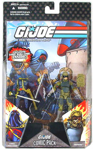 25th Anniversary Comic 2-Pack: Cobra Commander and Tripwire