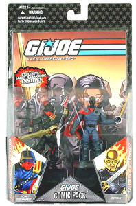 25th Anniversary Comic 2-Pack: Black Head Destro Vs Iron Grenadier - Variant
