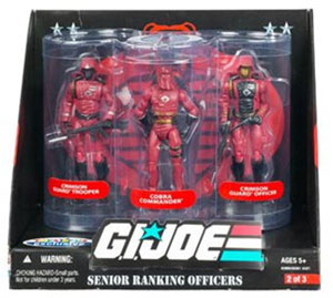G.I. Joe Senior Ranking Officers - Crimson Guard Command