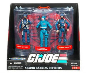 G.I. Joe Senior Ranking Officers - Cobra Infantry Command