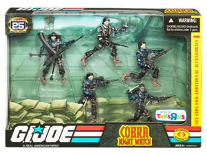 G.I. Joe Troop Builder Set - Cobra Special Operations Night Watch