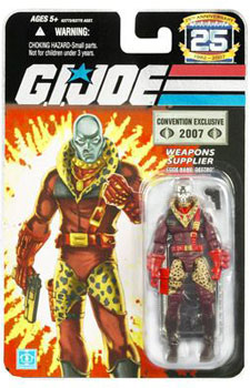 GI JOE 25TH EXCLUSIVE PIMP DADDY SILVER DESTRO