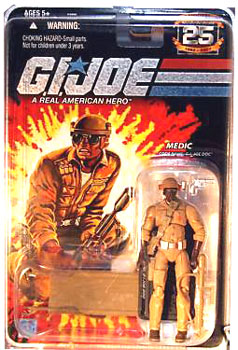 GI JOE 25TH ANNIVERSARY MEDIC DOC MAIL AWAY EXCLUSIVE