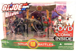 GI JOE - Ninja Battles Boxed Set