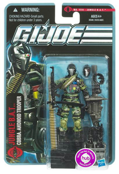 Pursuit of Cobra - Jungle BAT - Cobra Android Trooper