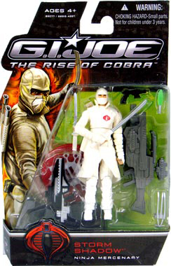 GI Joe Rise Of Cobra - Ninja Mercenary Storm Shadow