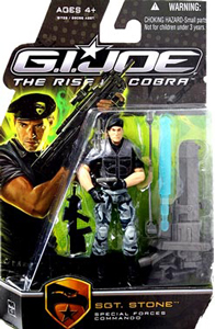 GI Joe Rise Of Cobra - Special Forces Commando Sgt Stone