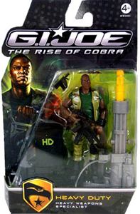 GI Joe Rise Of Cobra - HEavy Weapons Specialist - Heavy Duty