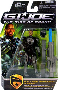 GI Joe Rise Of Cobra - Impact Armor - Wallace Ripcord Weems