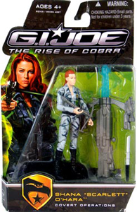 GI Joe Rise Of Cobra - Covert Operations Shana Scarlett OHara
