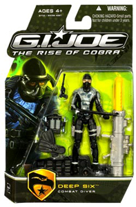 GI Joe - Rise Of Cobra - Combat Diver Deep Six
