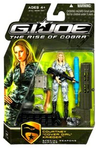 GI Joe Rise Of Cobra - Courtney Cover Girl Krieger