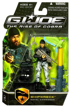 GI Joe Rise Of Cobra - Naval Commando Shipwreck