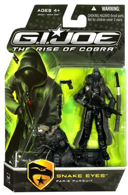 GI Joe Rise Of Cobra - Snake Eyes (Paris Pursuit)