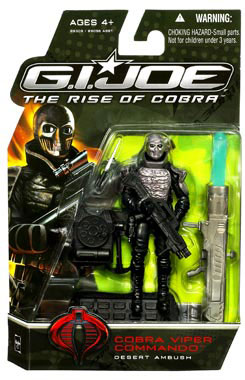 GI Joe Rise Of Cobra - Desert Ambush Cobra Viper Commando