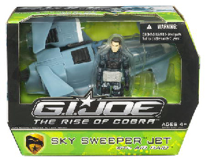 The Rise Of The Cobra - Sky Sweeper Jet with Air Raid