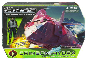 The Rise Of The Cobra - Crimson Hydra with Aero-Viper