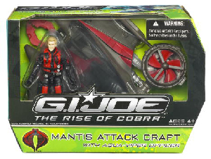 The Rise Of The Cobra - Mantis Attack Craft with Aqua-Viper