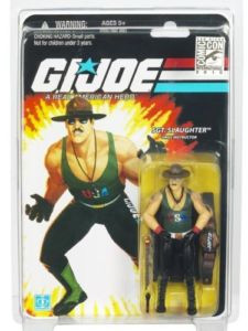 25th Anniversary - SDCC 2010 Sgt Slaughter Regular [Belt and Green Shirt]
