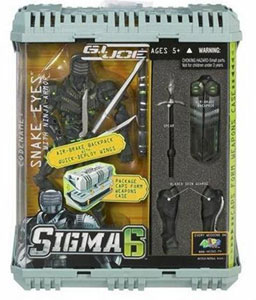 Sigma 6: Snake Eyes with Ninja Armor
