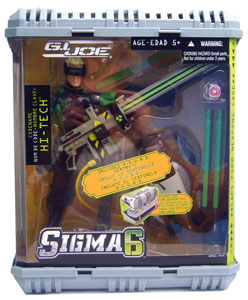 Sigma 6: Hi-Tech with Hound Sentry