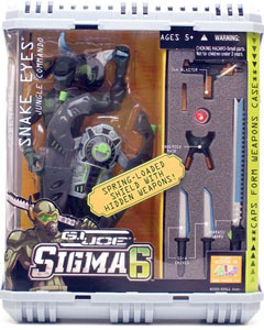Sigma 6: Snake Eyes Jungle Commando