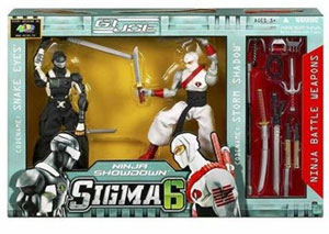 Snake Eyes vs Storm Shadow Ninja Showdown Set